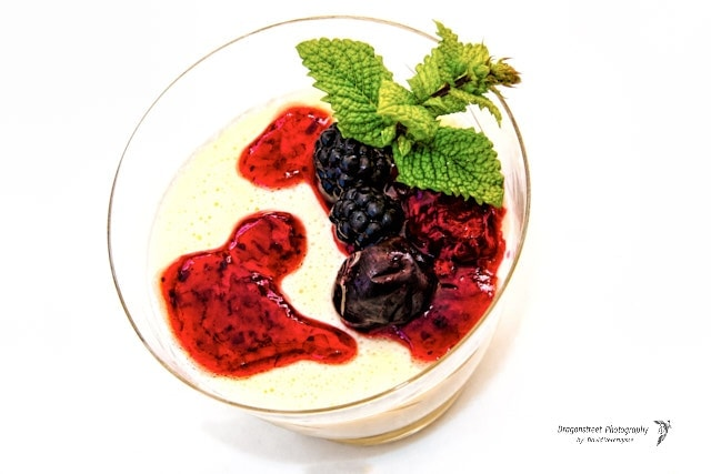 Dessert panna cotta