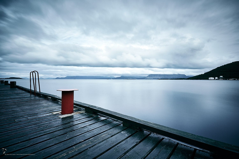 Port d'Harstad, Norvège