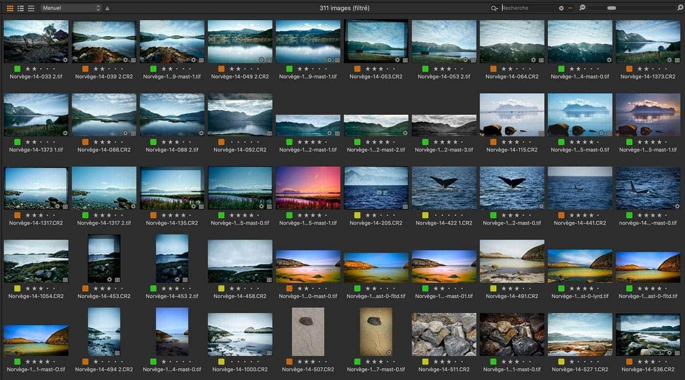 Capture On1 Pro navigateur
