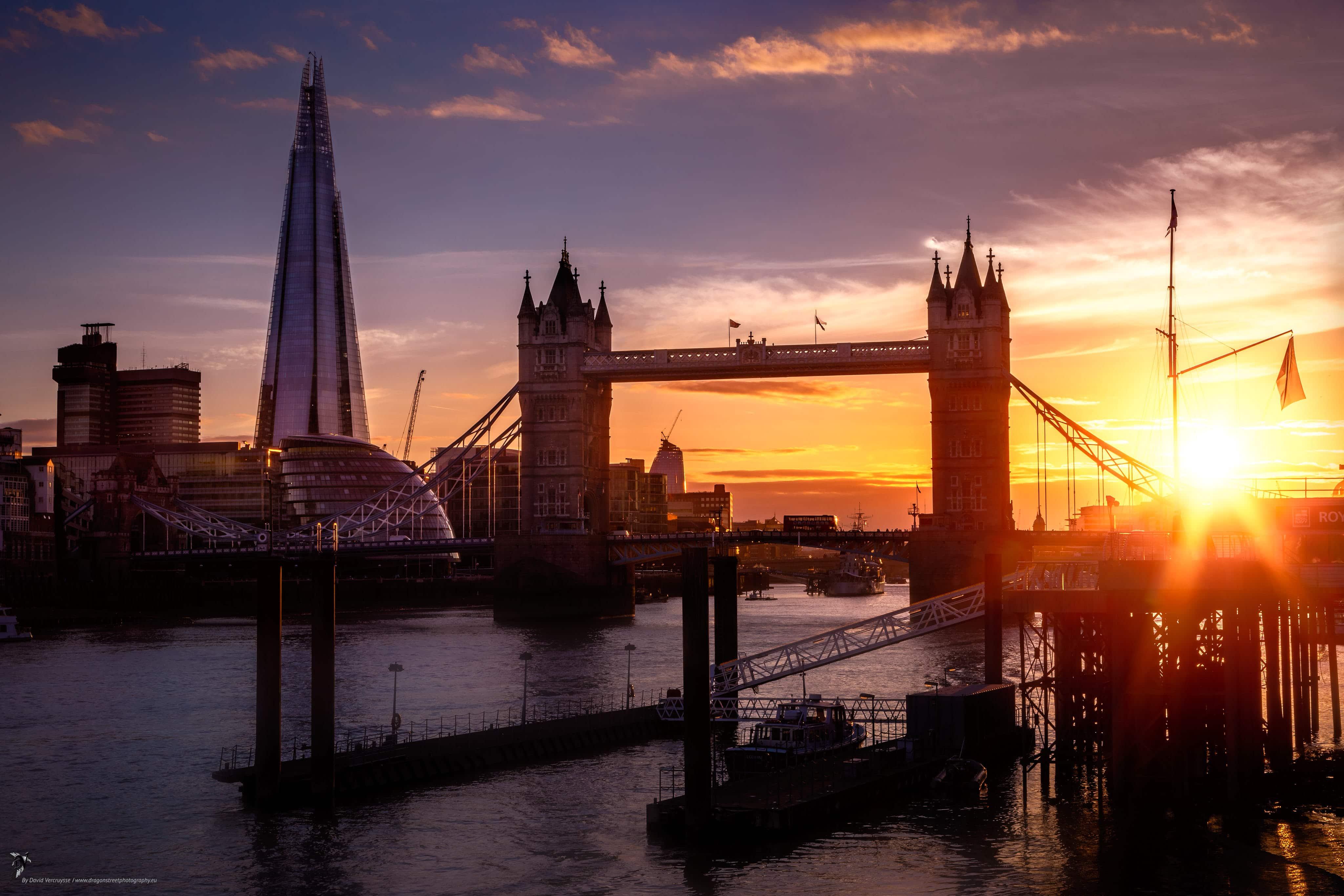 Tower Bridge, Londres, Angleterre
