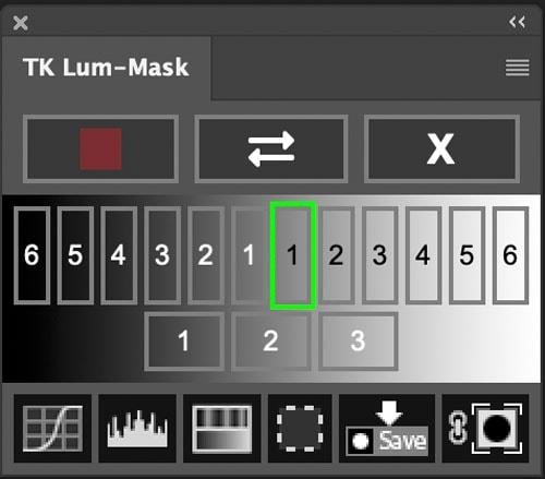 TK Luminosity Mask